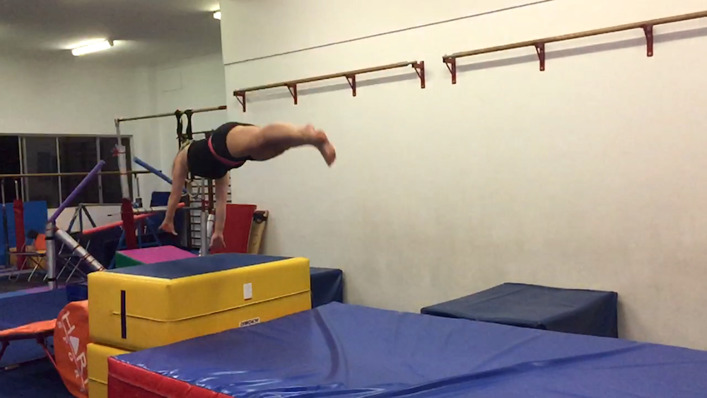 Adult gymnastics lessons ass