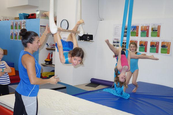 gymnastics holiday camp