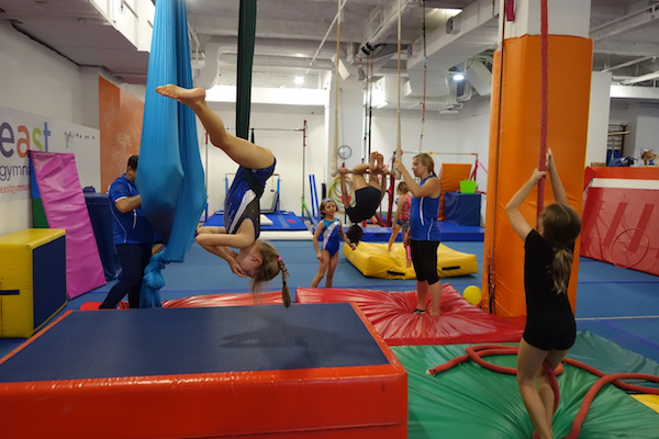 gymnastics holiday camp