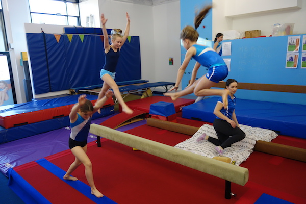 gymnastics kids indoor rainy season