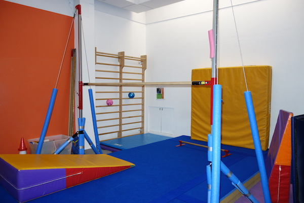 Uneven bars, parallel bars, single bar, wall bars